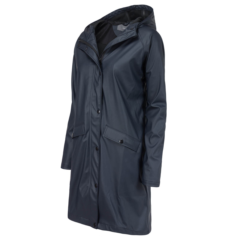 ichi damen regenmantel regen jacke mantel mit. Black Bedroom Furniture Sets. Home Design Ideas