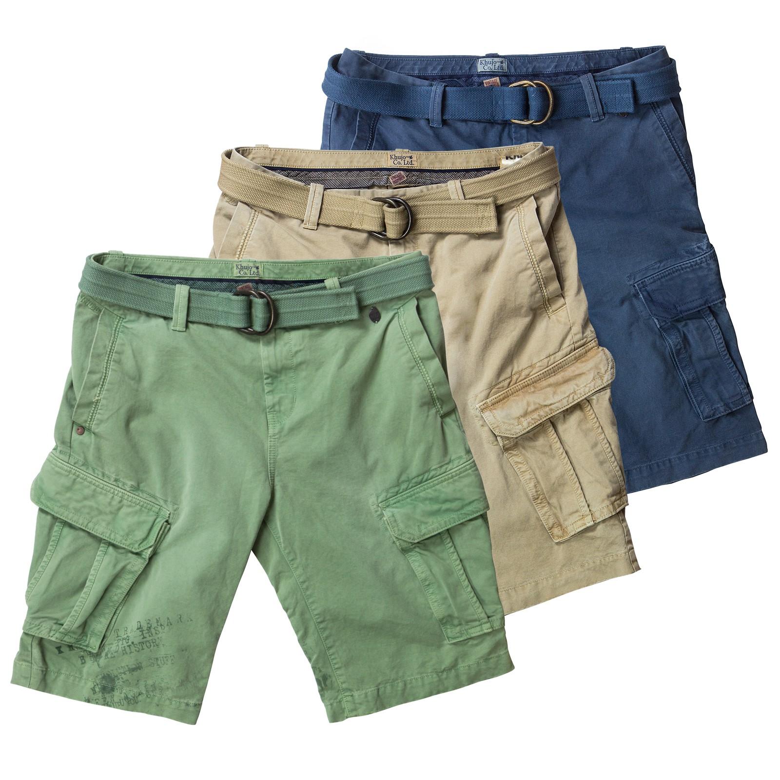 khujo herren cargo shorts herrenshorts cargoshorts kurze. Black Bedroom Furniture Sets. Home Design Ideas