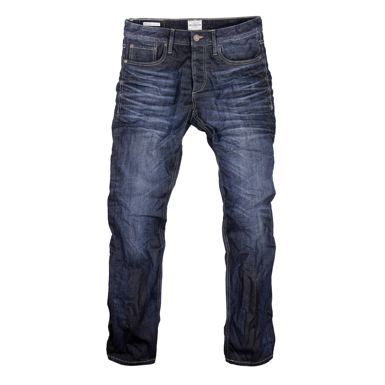 ecbb0619c374 JACK   JONES Jeans Herren Hose Jeanshose Denim Used-Waschung   eBay